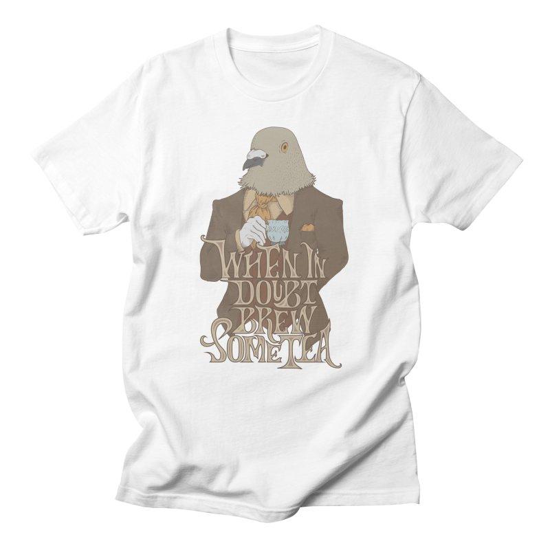 Brew Some Tea Men's T-shirt by Wolf Bite Shop