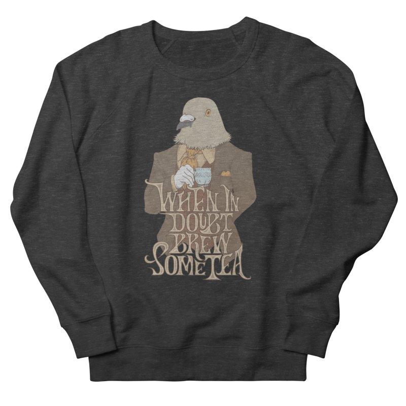 Brew Some Tea Women's French Terry Sweatshirt by Wolf Bite Shop