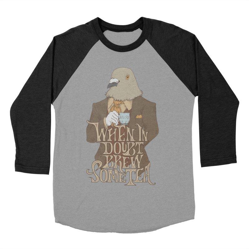 Brew Some Tea Women's Baseball Triblend Longsleeve T-Shirt by Wolf Bite Shop