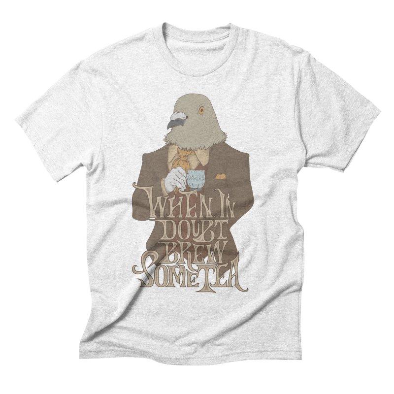 Brew Some Tea Men's Triblend T-shirt by Wolf Bite Shop