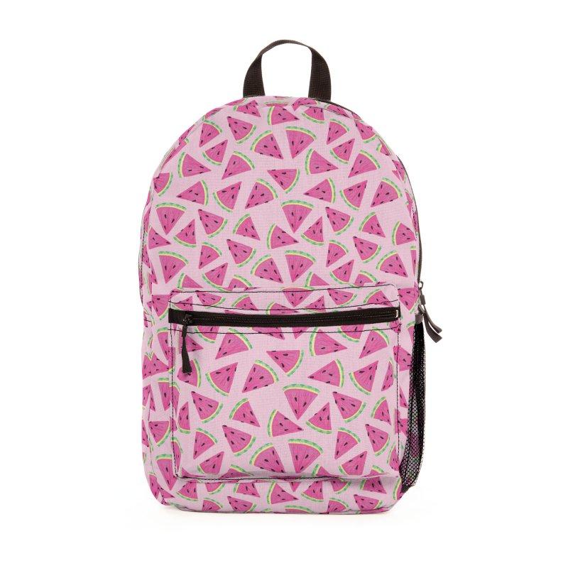 Watermelon Crush: Pale Pink Accessories Bag by Zoe Chapman Design
