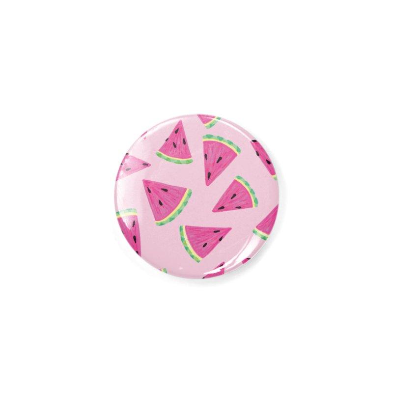 Watermelon Crush: Pale Pink Accessories Button by Zoe Chapman Design