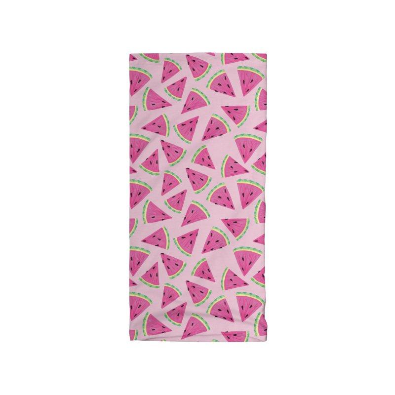 Watermelon Crush: Pale Pink Accessories Neck Gaiter by Zoe Chapman Design