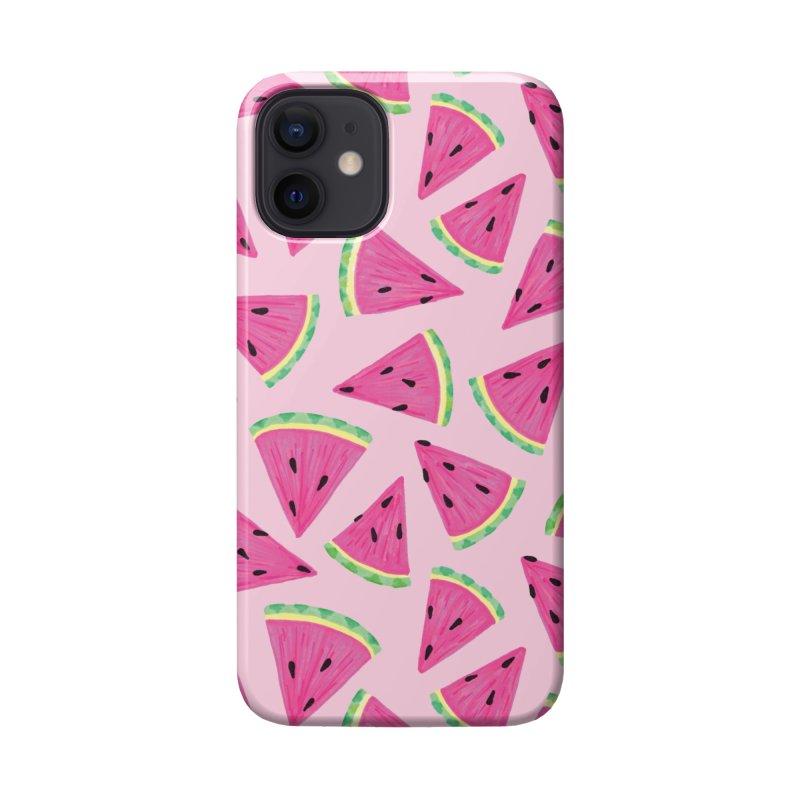 Watermelon Crush: Pale Pink Accessories Phone Case by Zoe Chapman Design