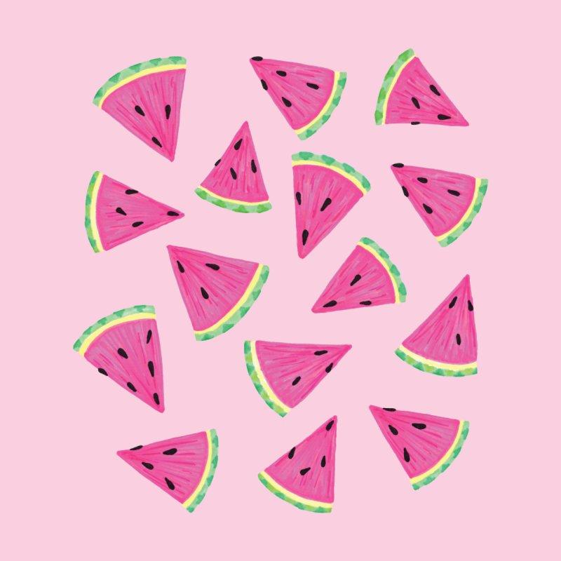 Watermelon Crush: Pale Pink Women's T-Shirt by Zoe Chapman Design