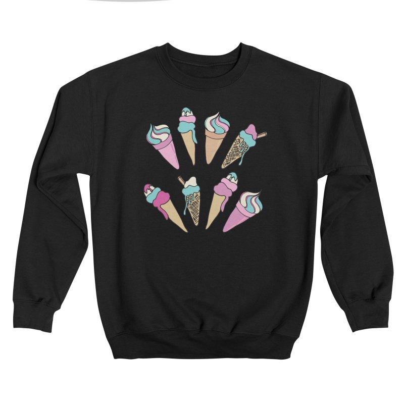 Ice Cream Days Men's Sweatshirt by Zoe Chapman Design