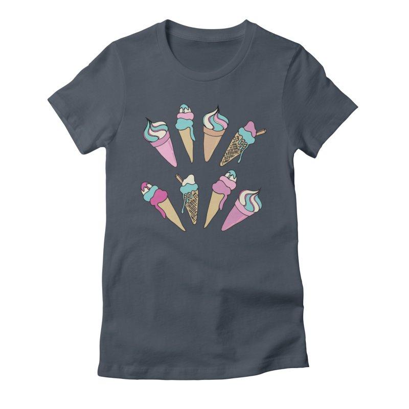 Ice Cream Days Women's T-Shirt by Zoe Chapman Design