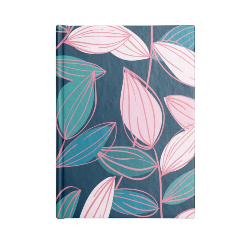 Leaf Lines Accessories Notebook by Zoe Chapman Design