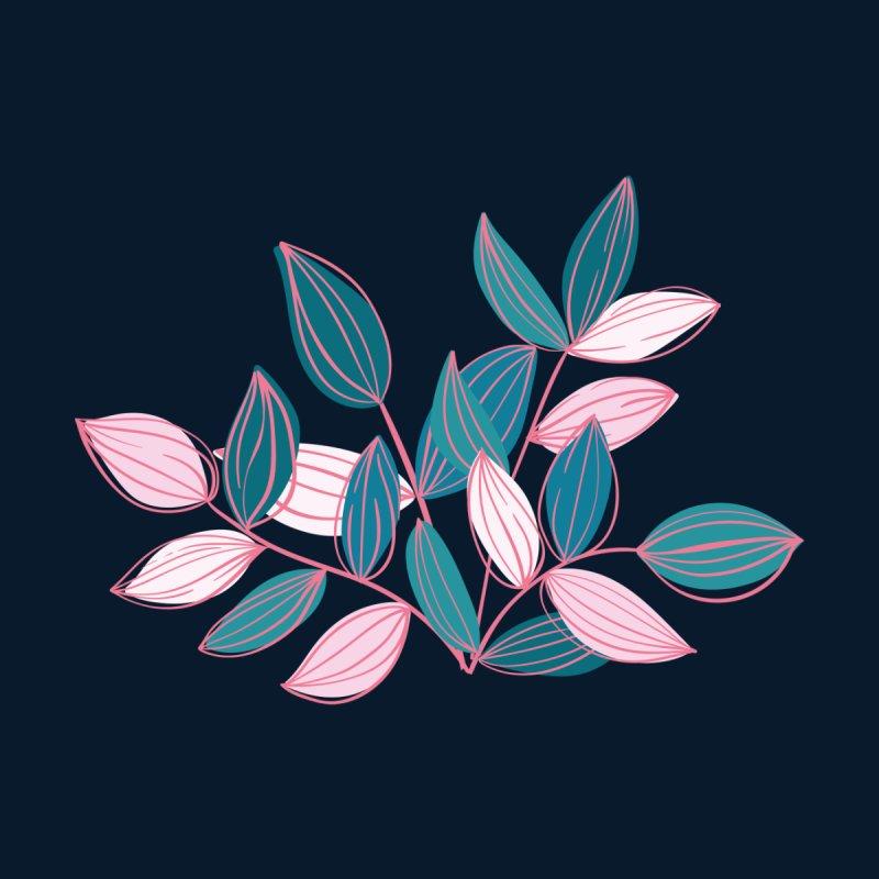 Leaf Lines Men's T-Shirt by Zoe Chapman Design