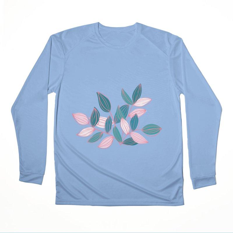 Leaf Lines Men's Longsleeve T-Shirt by Zoe Chapman Design