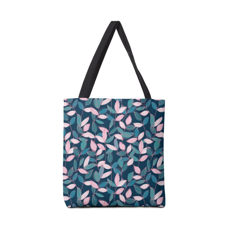 Leaf Lines Accessories Bag by Zoe Chapman Design