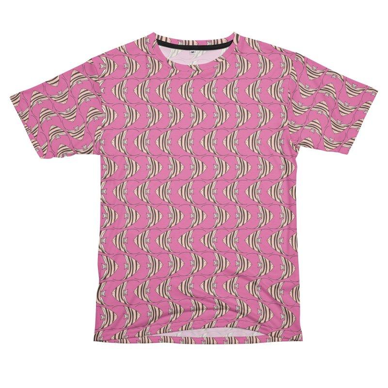 Pink Angel Fish Men's Cut & Sew by Zoe Chapman Design