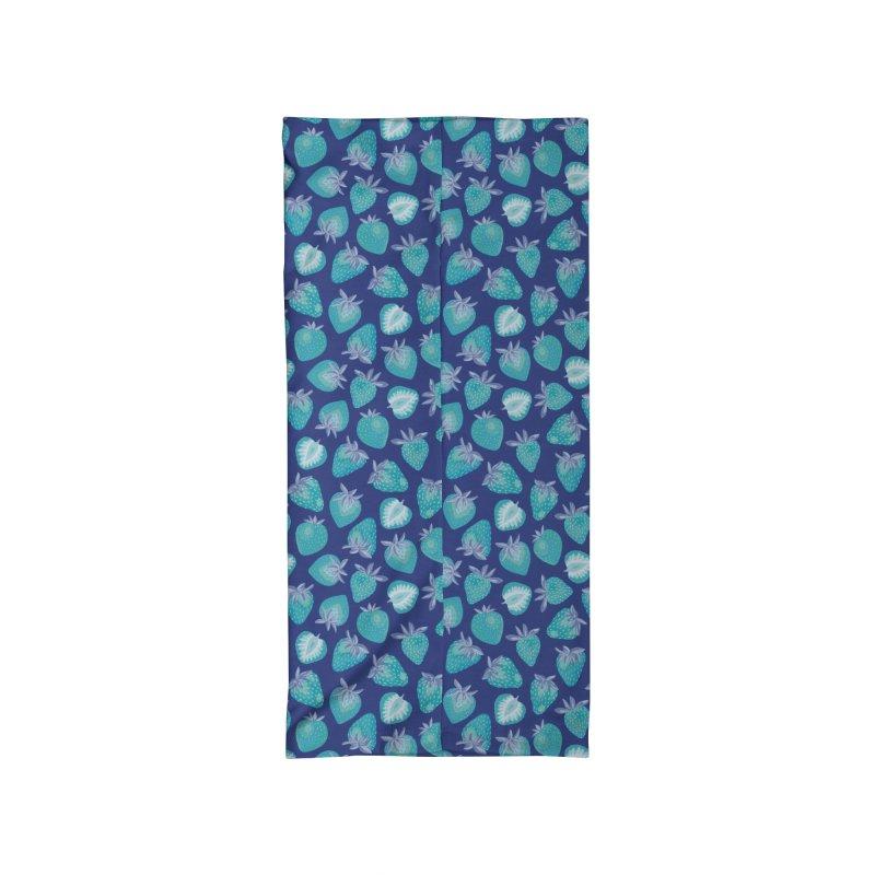 Blue Strawberry Accessories Neck Gaiter by Zoe Chapman Design