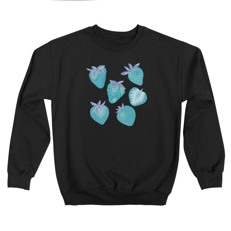 Blue Strawberry Women's Sweatshirt by Zoe Chapman Design