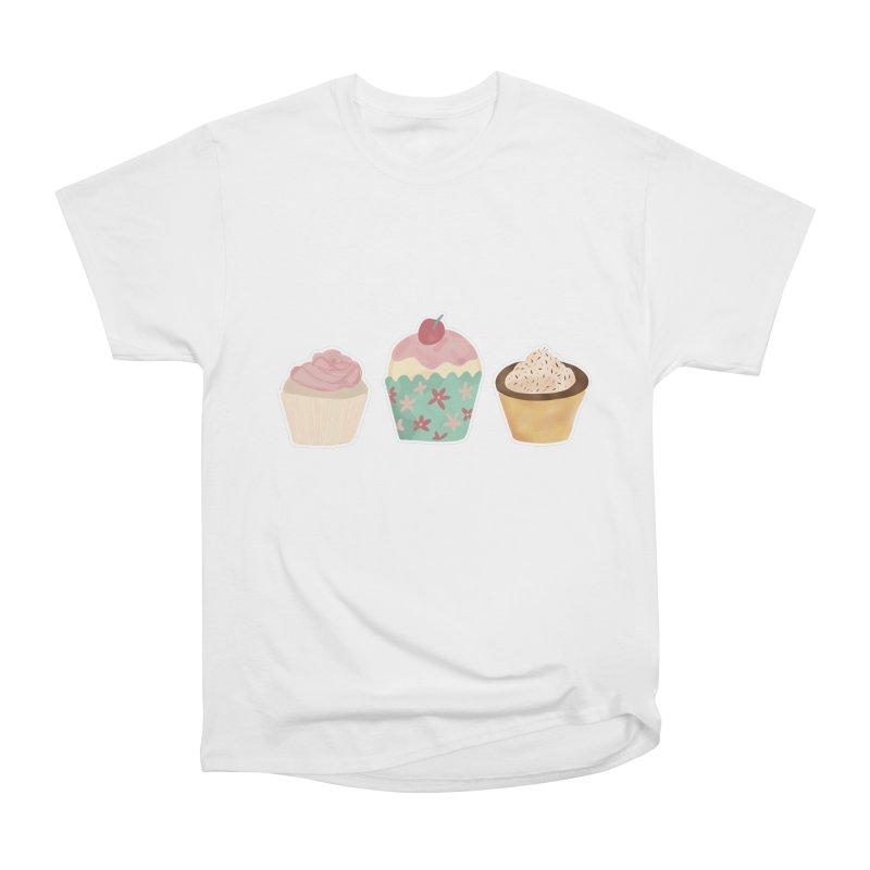 Cupcake Women's T-Shirt by Zoe Chapman Design
