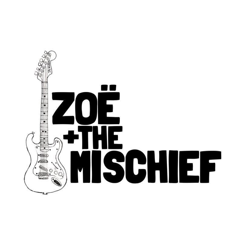 Zoë + The Mischief-Strat-Solid Black Letters by Zoë + The Mischief Merchandise