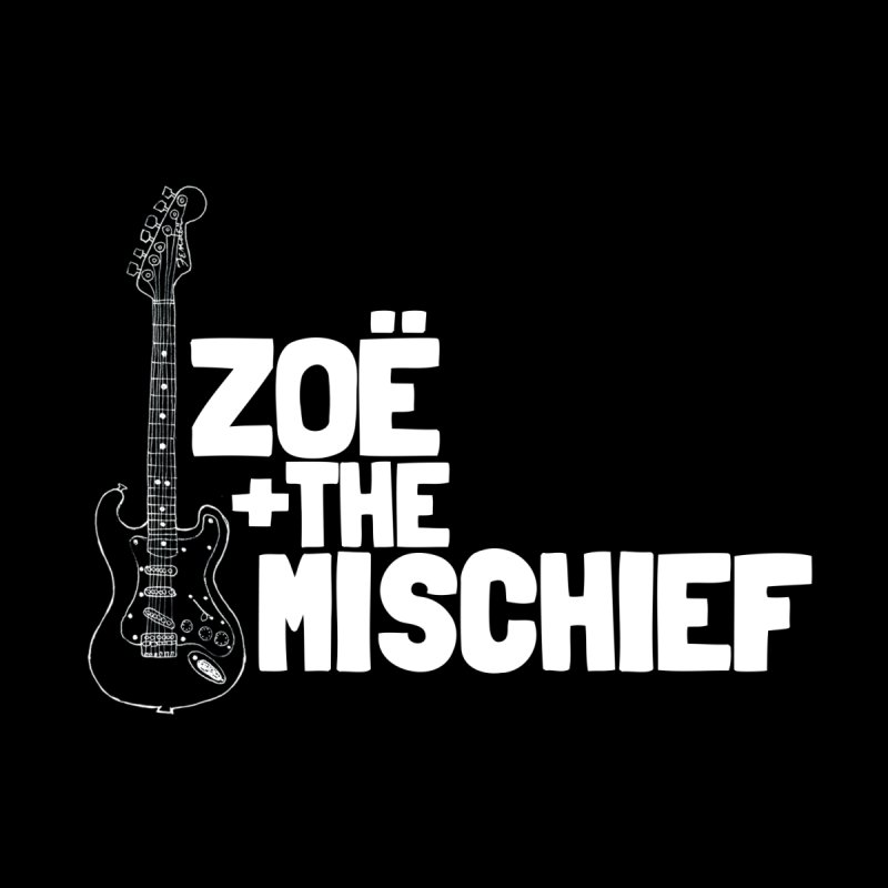 Zoë + The Mischief - Strat - Solid White Letters by Zoë + The Mischief Merchandise