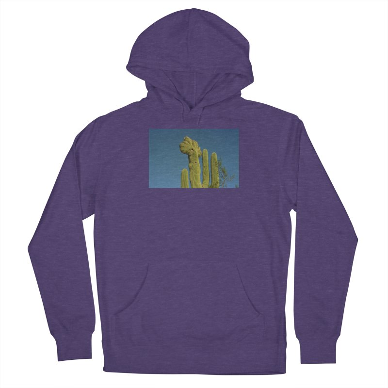 Cactus Man Men's Pullover Hoody by zoegleitsman's Artist Shop