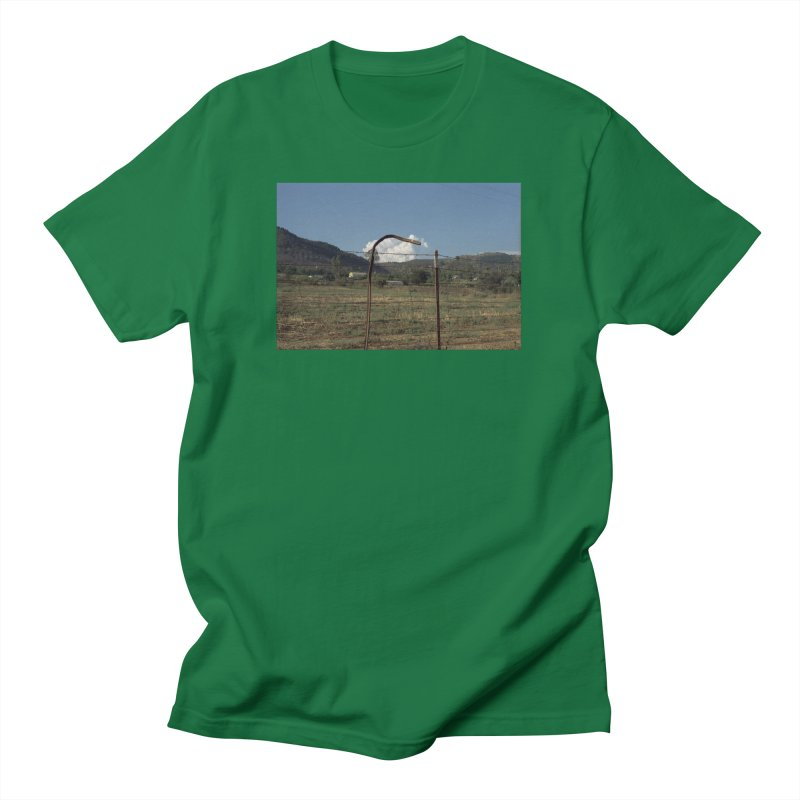 Clouds Trapped in a Fence Women's T-Shirt by zoegleitsman's Artist Shop
