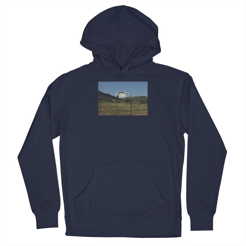 Clouds Trapped in a Fence Men's Pullover Hoody by zoegleitsman's Artist Shop