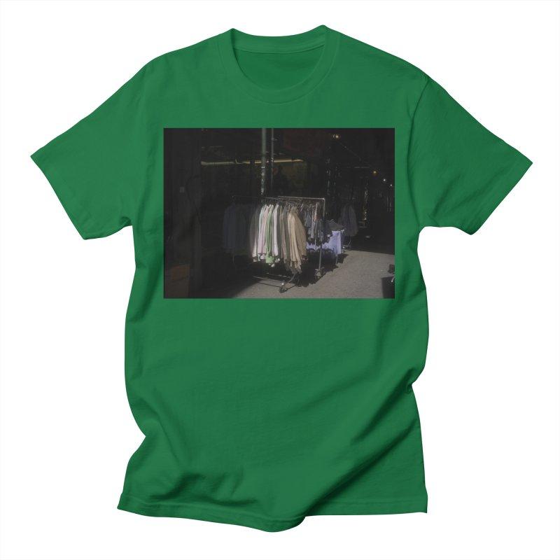 Coats for Sale on Orchard Street Men's T-Shirt by zoegleitsman's Artist Shop