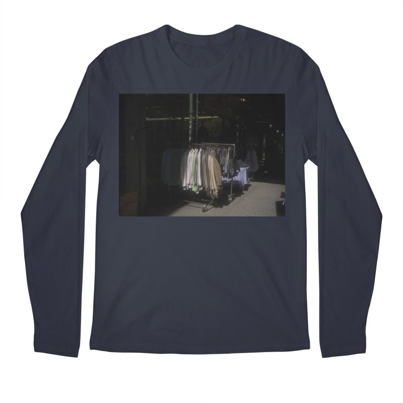 Coats for Sale on Orchard Street Men's Longsleeve T-Shirt by zoegleitsman's Artist Shop
