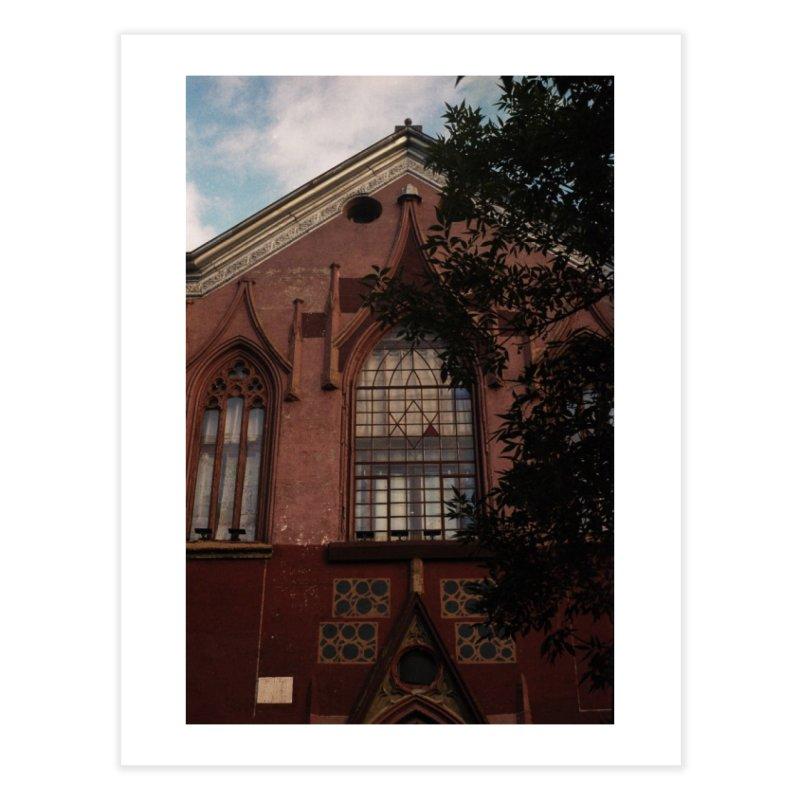Childhood Synagogue Home Fine Art Print by zoegleitsman's Artist Shop