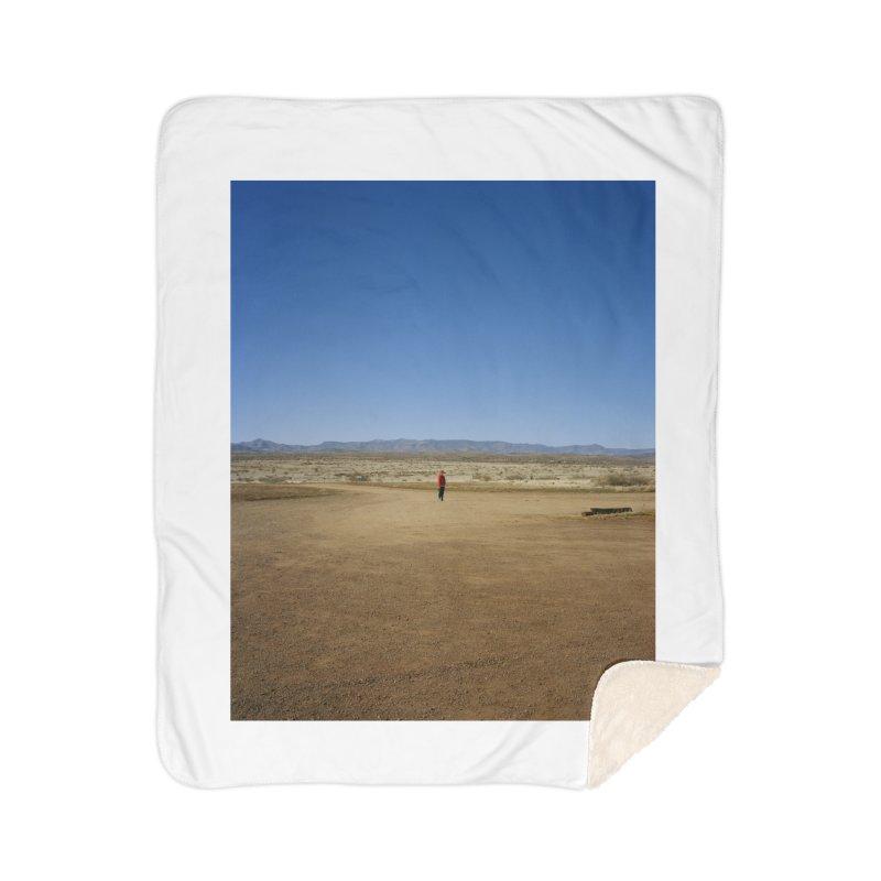 Cousin in the Desert Home Blanket by zoegleitsman's Artist Shop