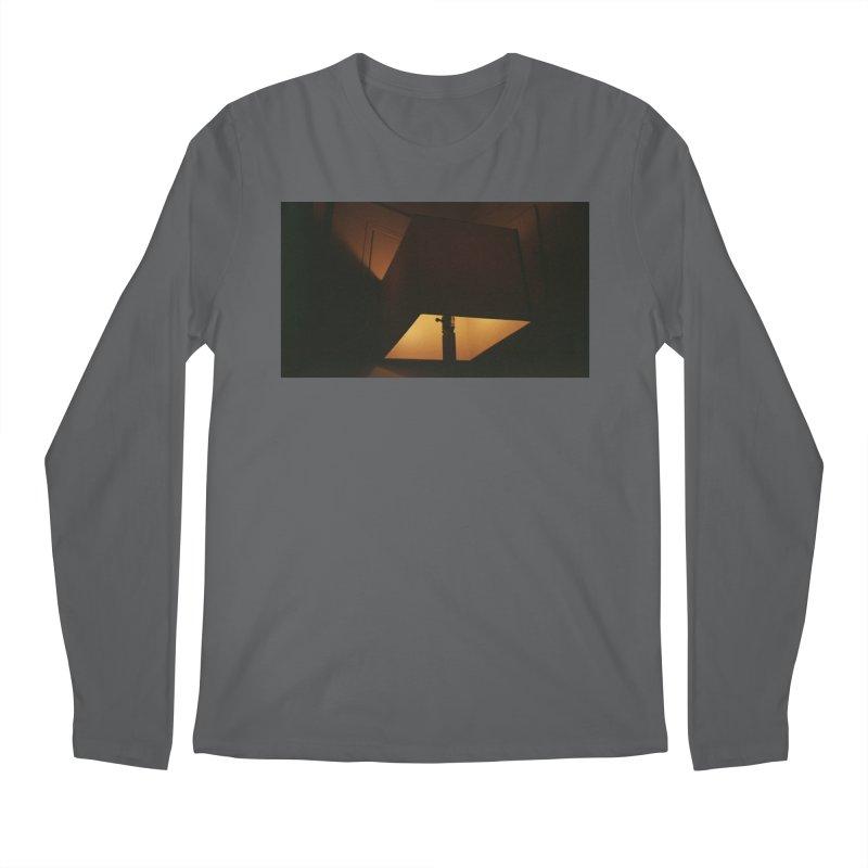 Square Lamp at Night Men's Longsleeve T-Shirt by zoegleitsman's Artist Shop