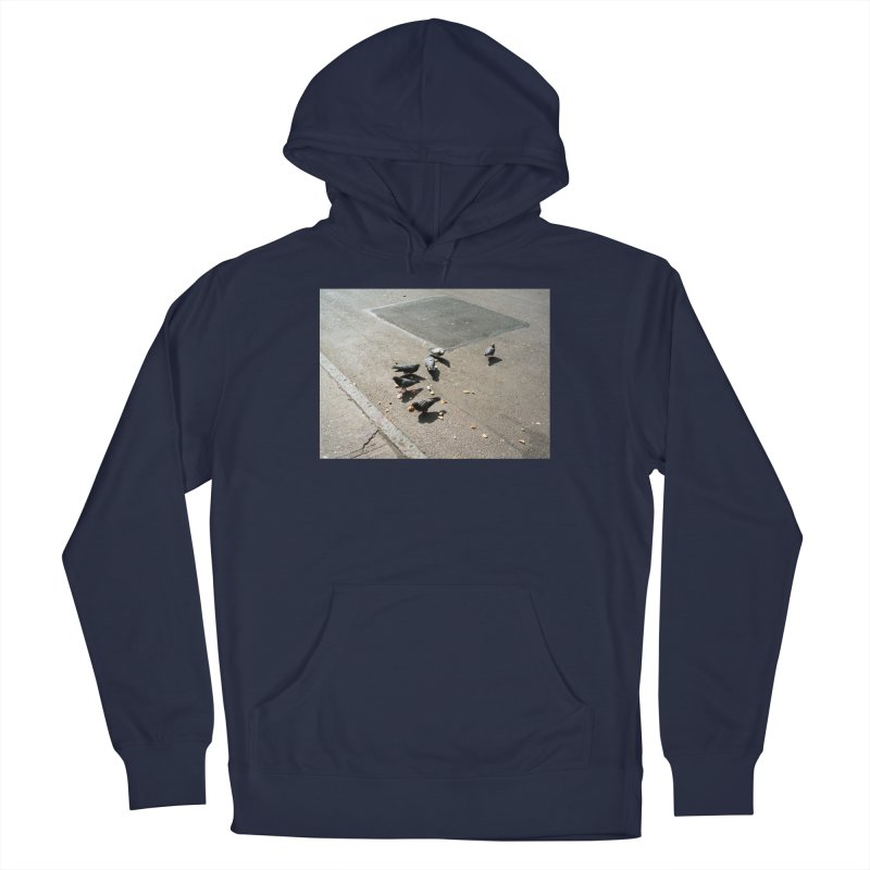 Pigeons on Orchard St. Men's Pullover Hoody by zoegleitsman's Artist Shop