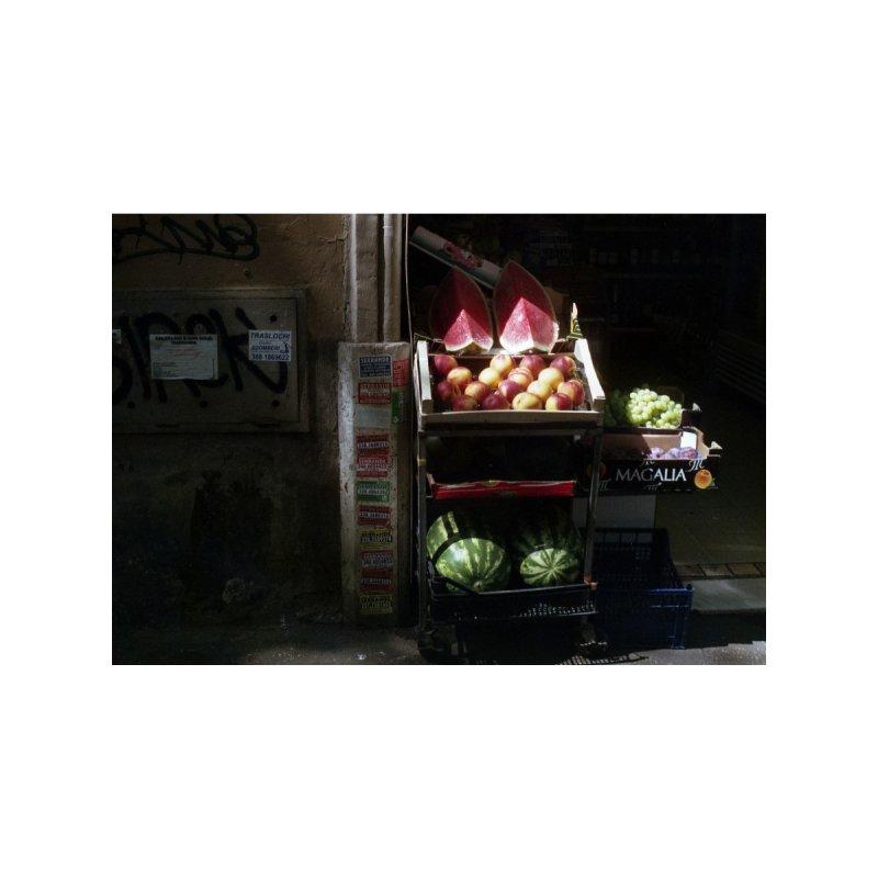 Fruit Stand Men's Pullover Hoody by zoegleitsman's Artist Shop
