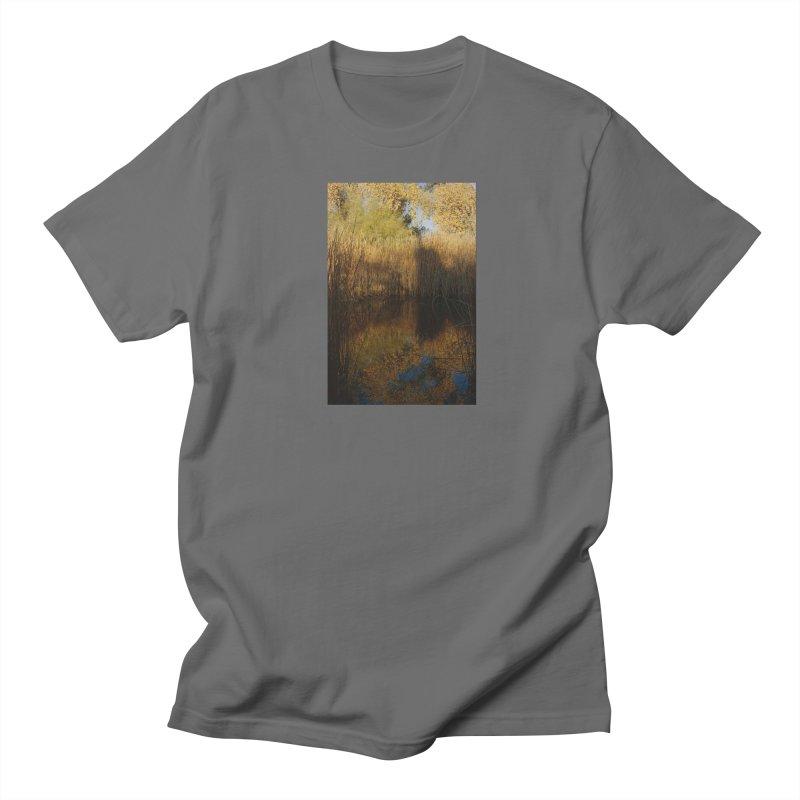 Yellow Reflections Men's T-Shirt by zoegleitsman's Artist Shop