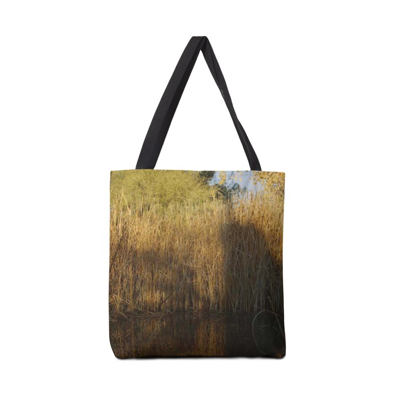 Yellow Reflections Accessories Bag by zoegleitsman's Artist Shop
