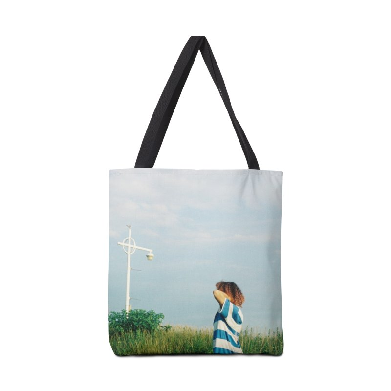 Friend at Riis Beach Accessories Bag by zoegleitsman's Artist Shop