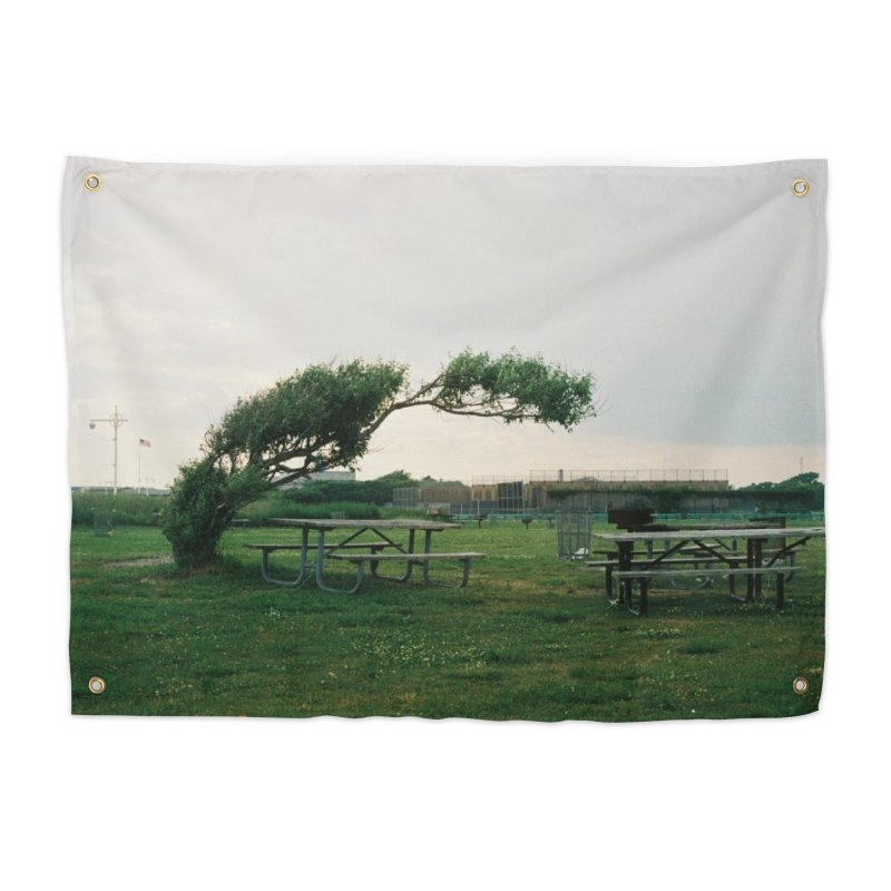 Bent Tree Home Tapestry by zoegleitsman's Artist Shop
