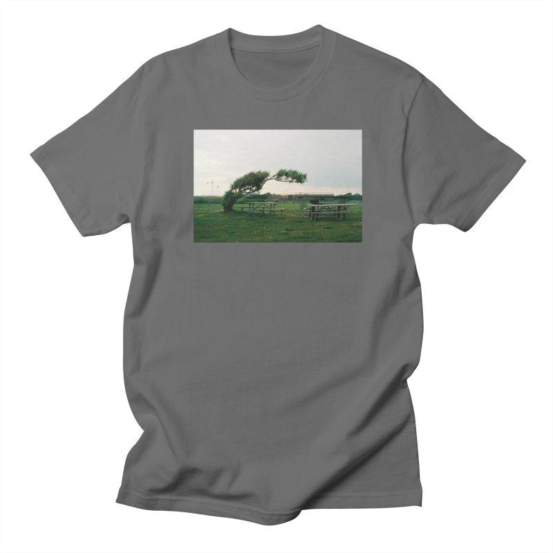 Bent Tree Men's T-Shirt by zoegleitsman's Artist Shop