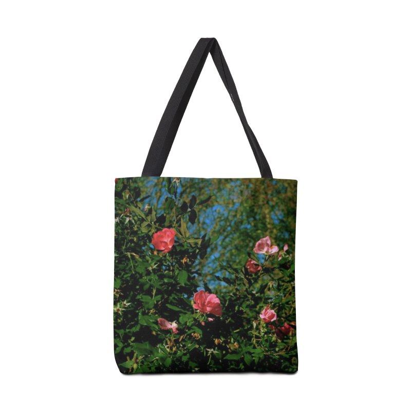Flowers Accessories Bag by zoegleitsman's Artist Shop