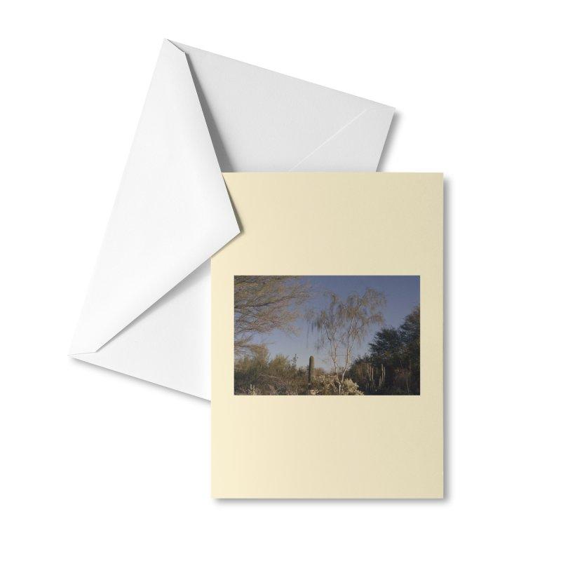 Desert Landscape Accessories Greeting Card by zoegleitsman's Artist Shop