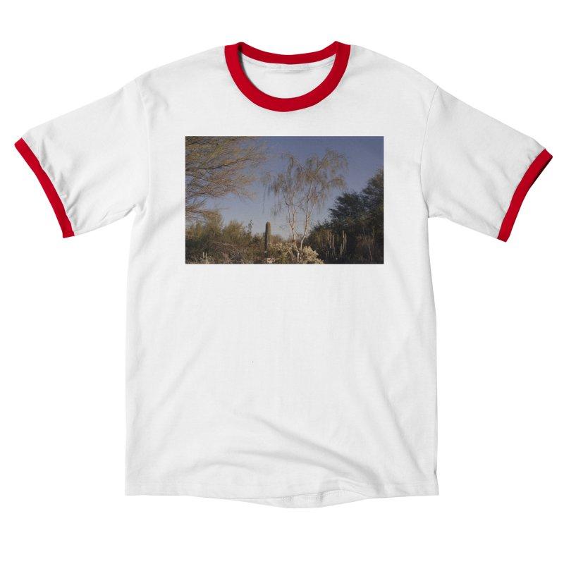 Desert Landscape Men's T-Shirt by zoegleitsman's Artist Shop