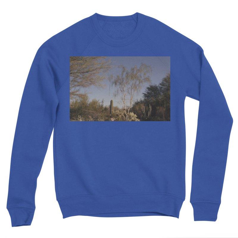 Desert Landscape Men's Sweatshirt by zoegleitsman's Artist Shop