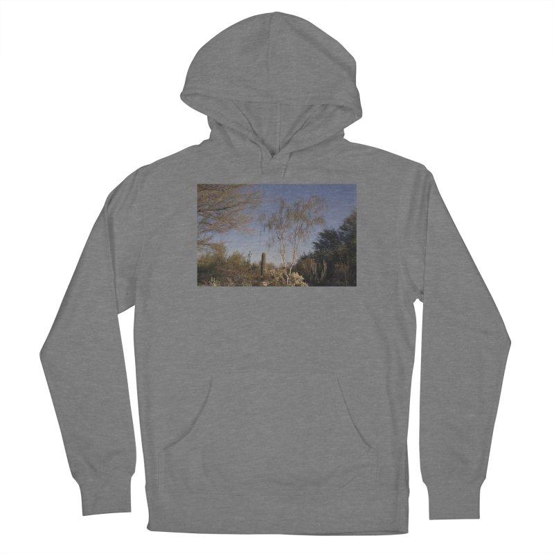 Desert Landscape Men's Pullover Hoody by zoegleitsman's Artist Shop