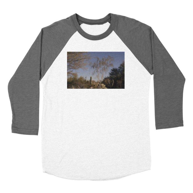 Desert Landscape Women's Longsleeve T-Shirt by zoegleitsman's Artist Shop