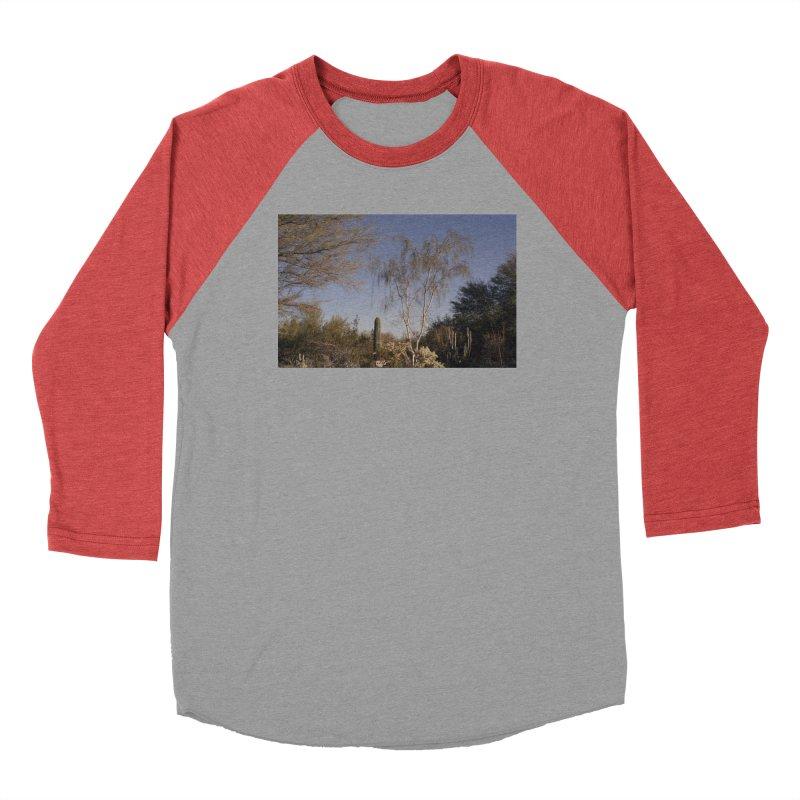 Desert Landscape Men's Longsleeve T-Shirt by zoegleitsman's Artist Shop