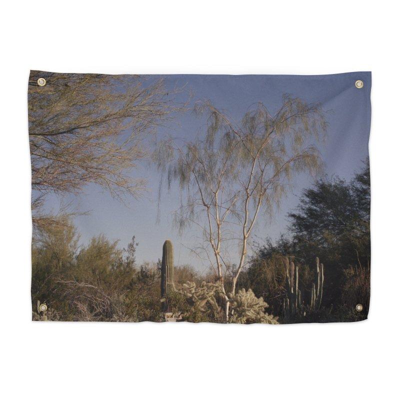 Desert Landscape Home Tapestry by zoegleitsman's Artist Shop