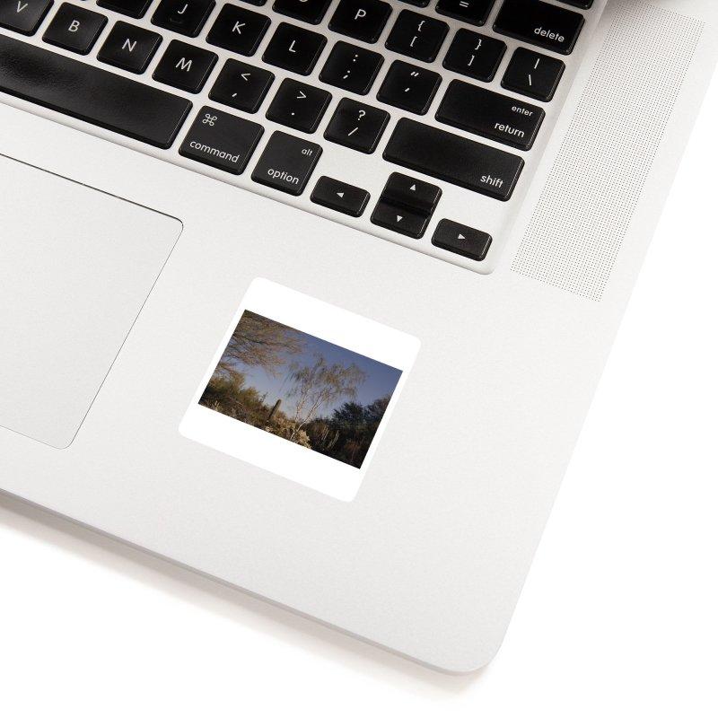 Desert Landscape Accessories Sticker by zoegleitsman's Artist Shop