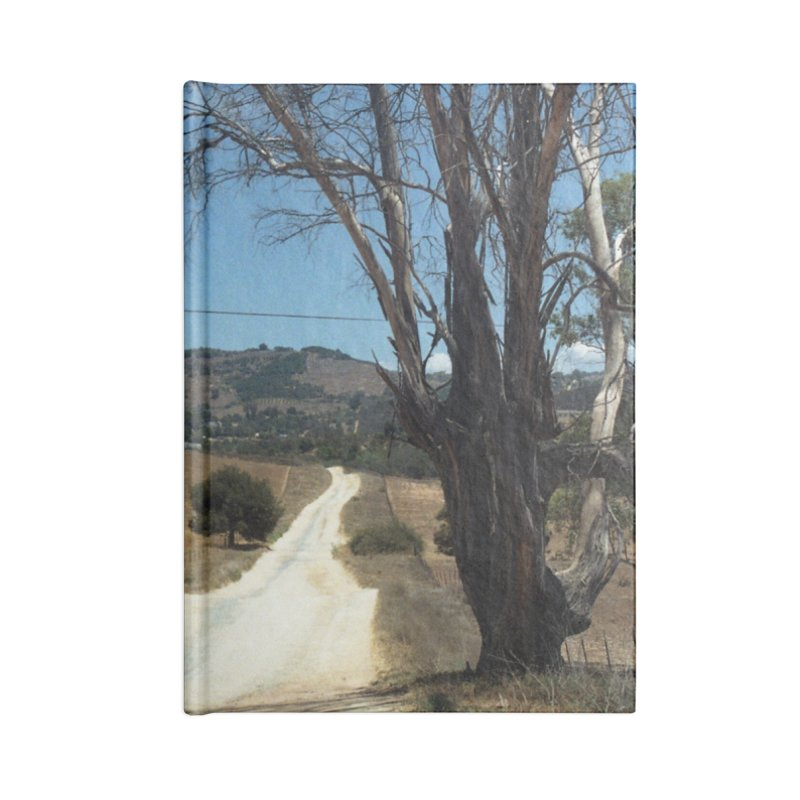 Dusty Road Accessories Notebook by zoegleitsman's Artist Shop