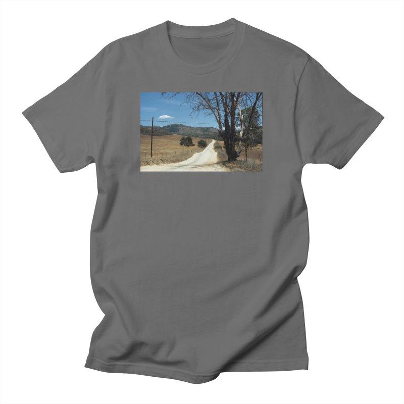 Dusty Road Men's T-Shirt by zoegleitsman's Artist Shop