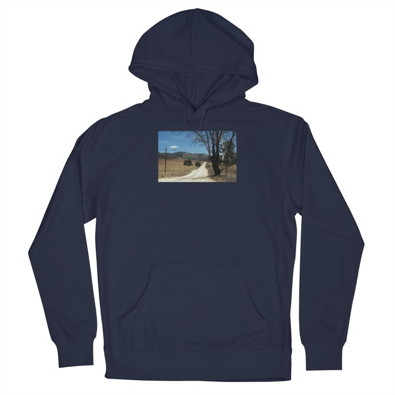 Dusty Road Men's Pullover Hoody by zoegleitsman's Artist Shop