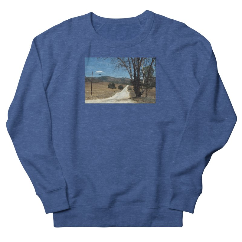 Dusty Road Men's Sweatshirt by zoegleitsman's Artist Shop