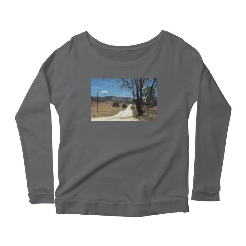 Dusty Road Women's Longsleeve T-Shirt by zoegleitsman's Artist Shop